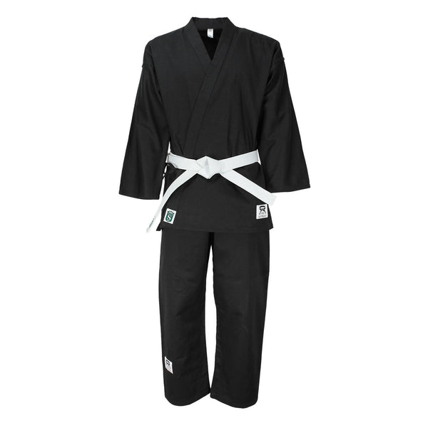 Student karate white Suit Cotton Twill 230-240G - HugeCARE Srl