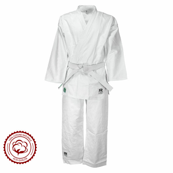 Premium Quality Judogi Basic Junior  Martial Arts Uniform for Kids - HugeCARE Srl