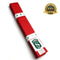 Premium Martial Arts Red Belt For Kids - HugeCARE Srl