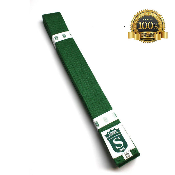 Premium Martial Arts Green Belt For Kids - HugeCARE Srl