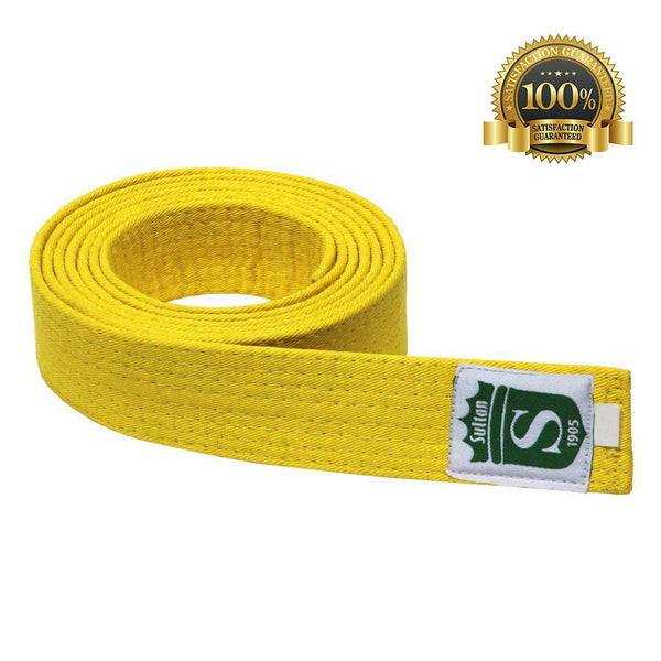 High-Quality Professional Martial Arts Yellow Belt - HugeCARE Srl