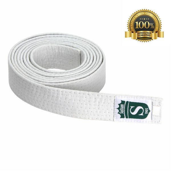 High-Quality Professional Martial White Arts Belt - HugeCARE Srl