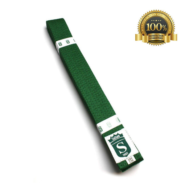 High-Quality Martial Arts Professional Green Belt - HugeCARE Srl