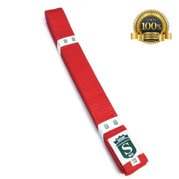 High-Quality Professional Martial Arts Red Belt Online Sale - HugeCARE Srl