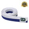 Premium Martial Arts Bicolor Belt Split Length Blue and White - HugeCARE Srl