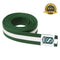 Premium Martial Arts Green Belt with White Stripe - HugeCARE Srl