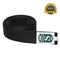 Professional Martial Arts Black Satin Belt - HugeCARE Srl