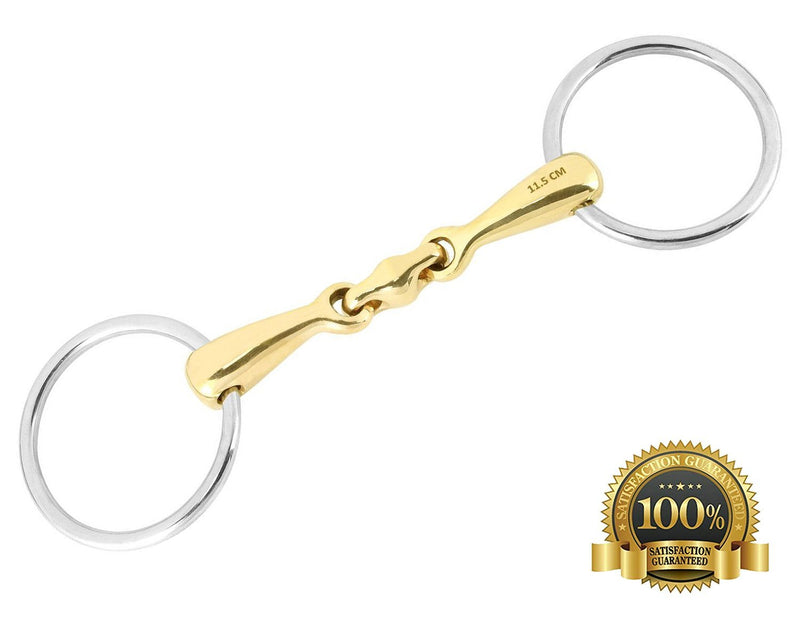Professional Loose Ring Snaffle With Joint Mouthpiece - HugeCARE Srl