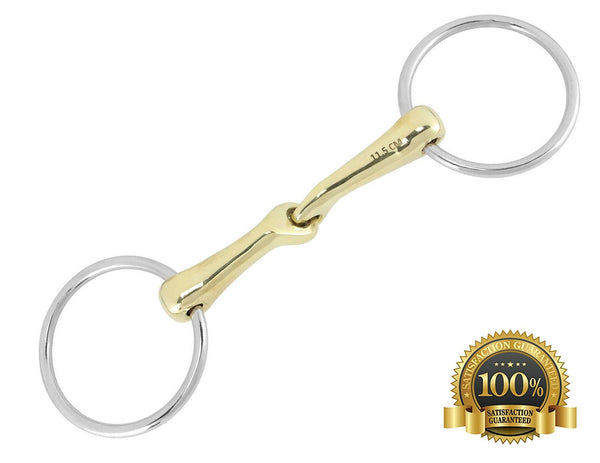 KK Loose Ring Snaffle Bits German Small Joint - HugeCARE Srl