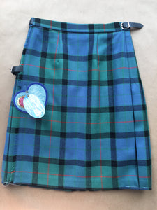 Ancient Gunn Tartan - Ladies/Girls Kilted skirt.