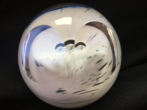 Caithness crystal - Small Snowy owl paperweight