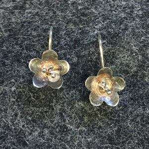 Pure Origins - flower drop earrings