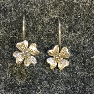 Pure Origins - floral drop earrings
