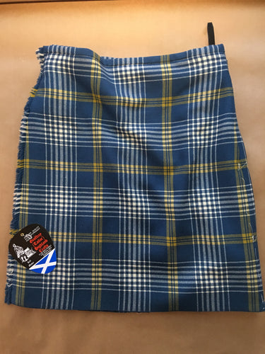 Handsewn kilts - Continental airlines tartan