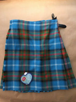 Handsewn kilts - Mountain sky tartan