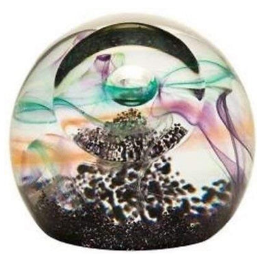 Caithness crystal - Medium Northern lights paperweight