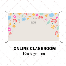 Load image into Gallery viewer, Digital Download Sunshine Online Classroom Background