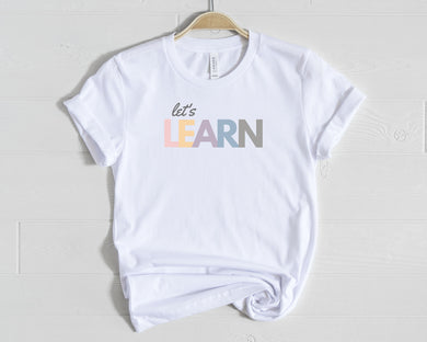 Let's Learn Shirt