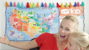 A perfect VIPKID classroom background