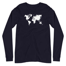 Load image into Gallery viewer, White World Long Sleeve