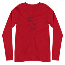 Load image into Gallery viewer, Heart Fingers Long Sleeve