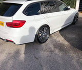 BMW 3 Series F30 / F31 M Sport Rear Spats Splitters ES DESIGN