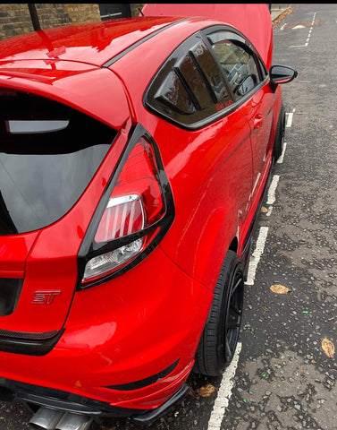 Ford Fiesta MK7 / MK7.5 Zetec S / ST Rear Light Surrounds ES DESIGN