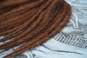 Reddish Brown, medium length