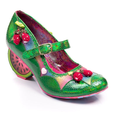 Irregular Choice Summer Fruits Green WAS £149 NOW £99