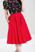 Load image into Gallery viewer, Paula Full Circle 50s Skirt Red