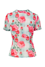 Load image into Gallery viewer, Floral  Chiffon Blouse SALE WAS £25 NOW £15