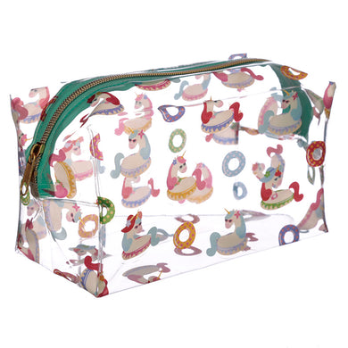 Holiday Unicorns makeup Toiletry Bag