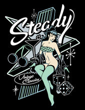 Load image into Gallery viewer, Steady Atomic Pin-up T-shirt
