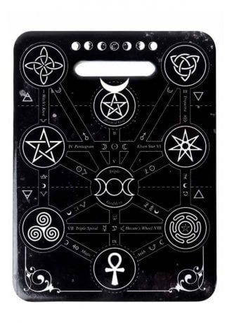 Alchemy Gothic Magic symbols kitchen Trivet