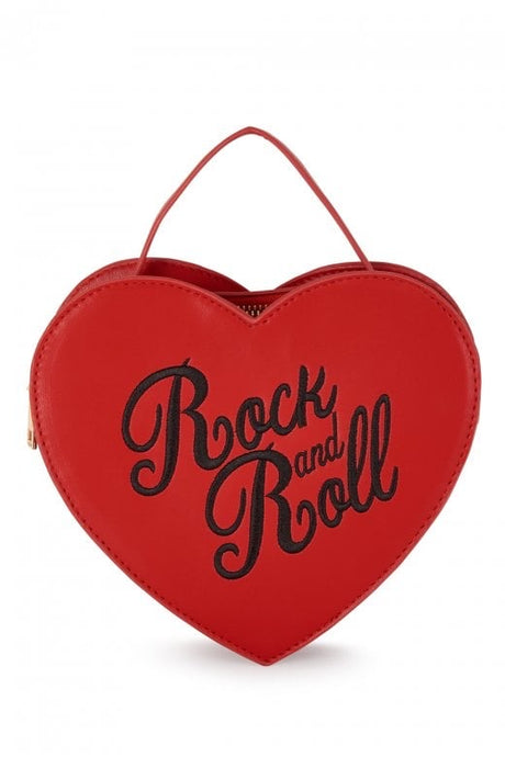 Rock and Roll Heart Bag