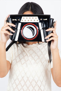 Patsy Paparazzi Camera Bag Black