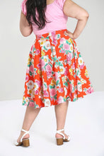 Load image into Gallery viewer, Marguerita Floral Full circle skirt SALE WAS £34 NOW £10