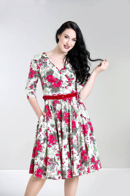 Jennie Festive 50s Dress SALE WAS £56 NOW £29