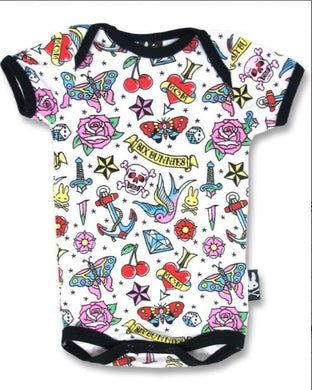 Tattoo Baby grow SALE WAS £12 NOW £6