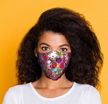 Load image into Gallery viewer, Rainbow Graffiti reusable Mask Face Covering