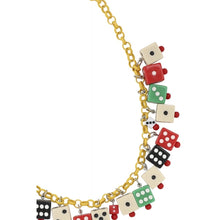 Load image into Gallery viewer, Vegas 40s Dice Necklace