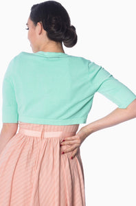 Hudson Short Sleeve Bolero Mint
