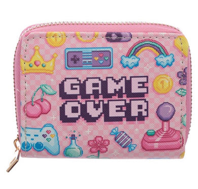 Small Zip Up Next Gen Game Over Wallet Purse
