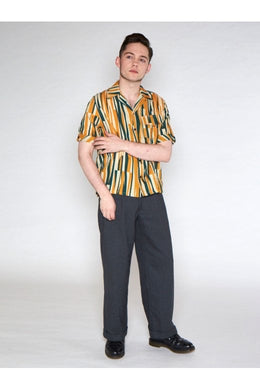 Oscar Abstract Multi 50's Shirt