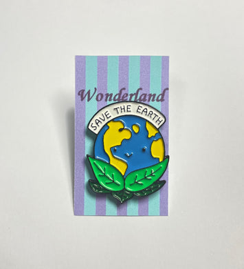 """Save the Earth"" Pin badge"