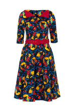 Load image into Gallery viewer, Prairie retro 50s Cat Dress