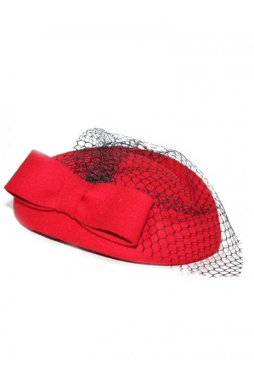 Collectif Lucy Hat Pillarbox Red