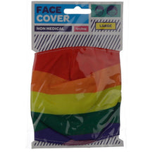 Load image into Gallery viewer, Rainbow reusable Mask Face Covering