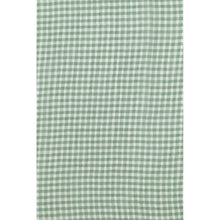 Load image into Gallery viewer, Green Gingham soft Chiffon scarf/ Headscarf