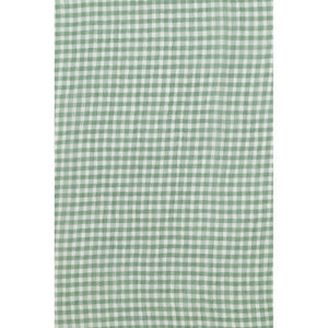 Green Gingham soft Chiffon scarf/ Headscarf